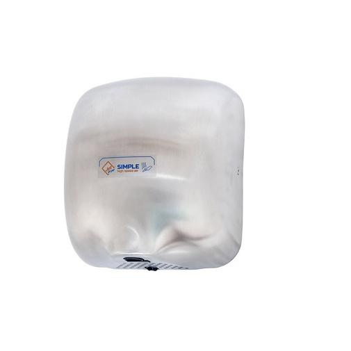 Jet Dryer SIMPLE stříbrný Bezdotykový osoušeč rukou, kovový kryt