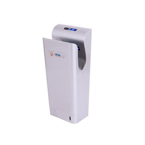 Jet Dryer STYLE stříbrný + AKCE a Záruka+, Tryskový osoušeč rukou, Hepa filtr H13, UV diody