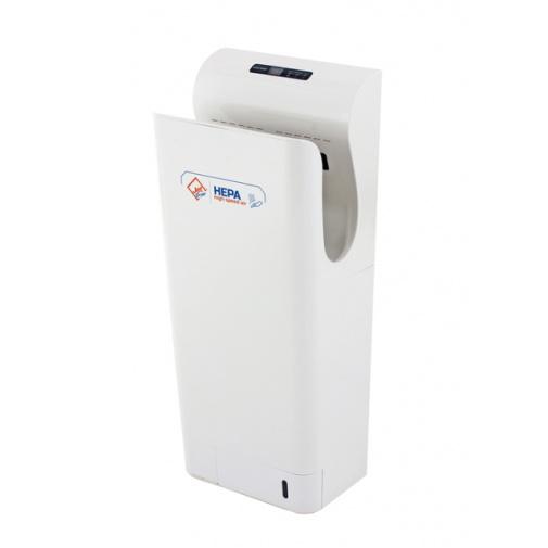 Jet Dryer STYLE bílý + AKCE a Záruka+, Tryskový osoušeč rukou, Hepa filtr H13, UV diody