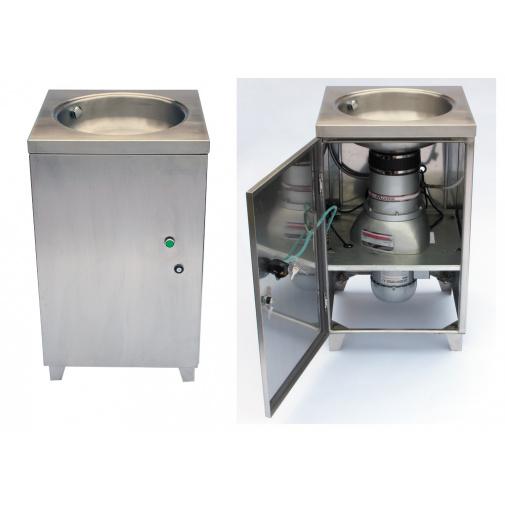 EcoMaster Commercial + DÁREK, Profi drtič kuchyňských odpadů do gastroprovozů v nerezové skříni