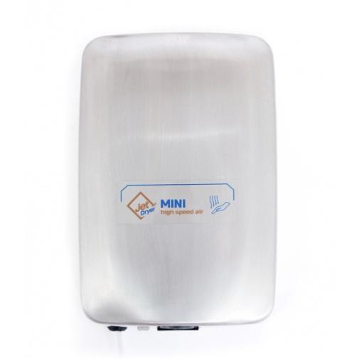 Jet Dryer MINI nerez Malý bezdotykový osoušeč rukou, nerezový kryt