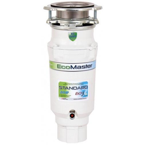 EcoMaster Standard EVO3 + DÁREK a Prodloužená záruka, Drtič kuchyňského odpadu pro běžnou domácnost