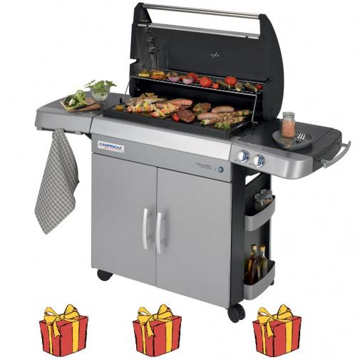 Campingaz 3 Series RBS L INT + Obal, Chladící box, Stojan kuře a více, Zahradní plynový gril /2000015654/