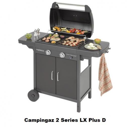 Campingaz 2 Series LX Plus D + AKCE DÁRKY, Zahradní plynový gril /3000006589/