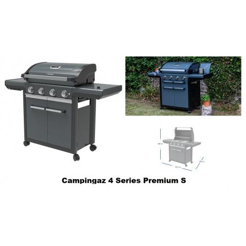 Campingaz 4 Series Premium S + AKČNÍ SET, Zahradní plynový gril /2000037286/