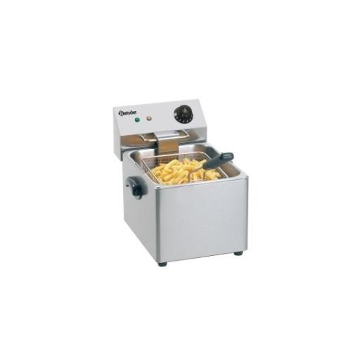 Profi gastro fritéza elektrická SNACK III - 1 x 8,0 litru - AKCE