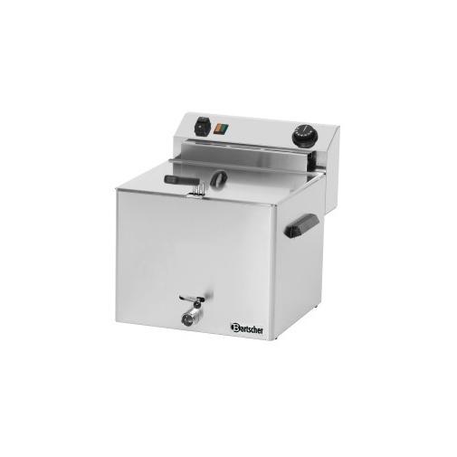 Fritéza elektrická PROFESSIONAL s výpustným ventilem - 1x10l - AKCE
