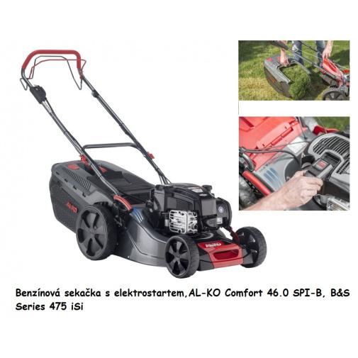 AL-KO Comfort 46.0 SPI-B 119939 + AKCE Zprovoznění, Benzínová sekačka s elektrostartem, B&S 475 iSi
