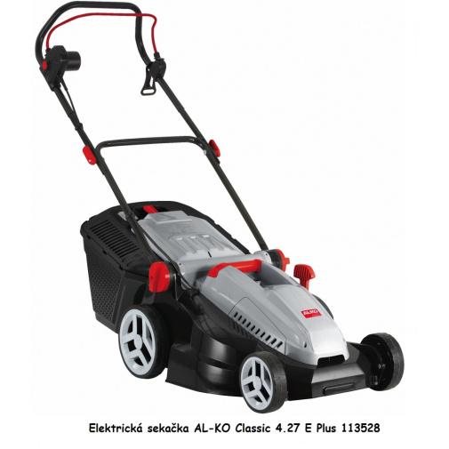 AL-KO Classic 4.27 E Plus + Komfort servis, Elektrická sekačka se záběrem 42cm /113528/, 1600W