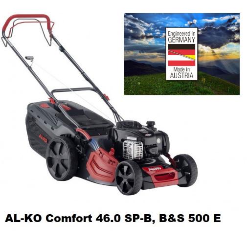 AL-KO Comfort 46.0 SP-B + AKCE Zprovoznění a více, Benzínová sekačka s pojezdem /119937/, B&S 500 E