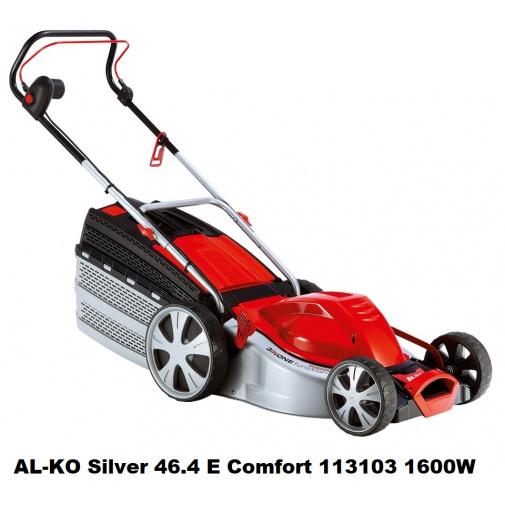 AL-KO Silver 46.4 E Comfort 113103 Elektrická sekačka s ocelovým šasi, záběr 46cm,1600W