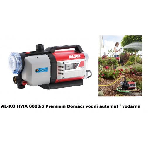 AL-KO HWA 6000/5 Premium + AKCE Komfort servis, Domácí vodní automat s výtlakem 60m /113141/