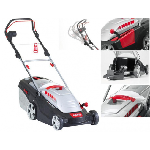 AL-KO Comfort 40 E + Komfort servis, Elektrická sekačka na trávu se záběrem 40cm /112858/