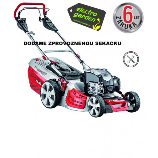 AL-KO Highline 527 VS + Sestavení, zprovoznění a více, Benzínová sekačka s regulací pojezdu /119770/, B&S 675 EX