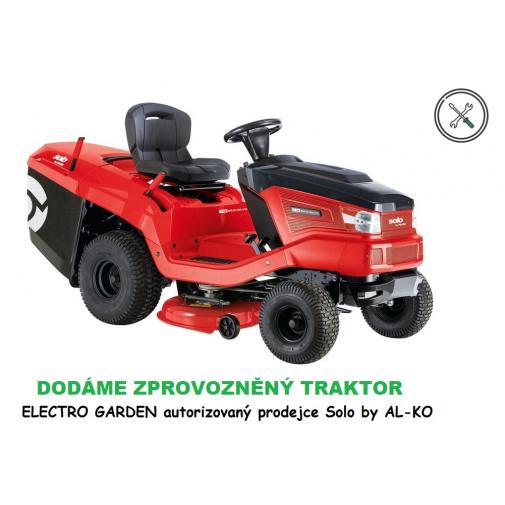 Solo by AL-KO T 16-95.6 HD V2 127369 + Sestavení, zprovoznění + olej, Zahradní dvouválcový traktor, B&S Intek 7160