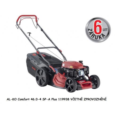 AL-KO Comfort 46.0-4 SP-A Plus + AKCE Zprovoznění a Záruka 6let, Benzínová sekačka s pojezdem /119938/, záběr 46cm