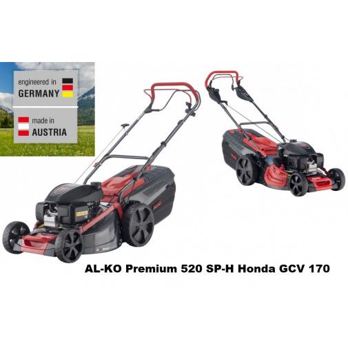 AL-KO Premium 520 SP-H 119969 + AKCE Zprovoznění a více, Benzínová sekačka s motorem Honda GCV 170