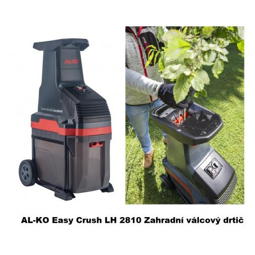 AL-KO Easy Crush LH 2810 + AKCE Komfort servis, Zahradní válcový drtič větví s košem 2800W /113873/