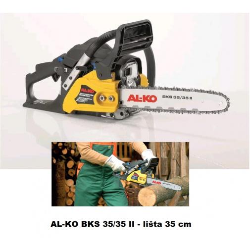 AL-KO BKS 35/35 II + AKCE Servis+, Benzínová řetězová pila s lištou 35cm /112560/