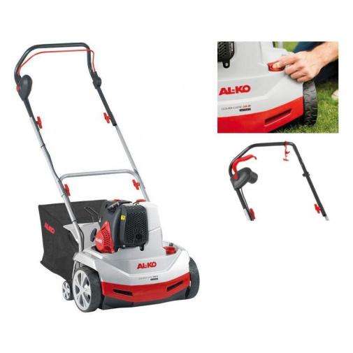 AL-KO Combi Care 38 P Comfort 112799 + AKCE Komfort servis, Benzínový travní vertikutátor s košem