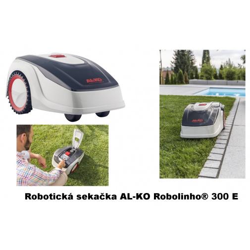 AL-KO Robolinho 300 E 119991 AKU Robotická sekačka pro plochy do 300m2