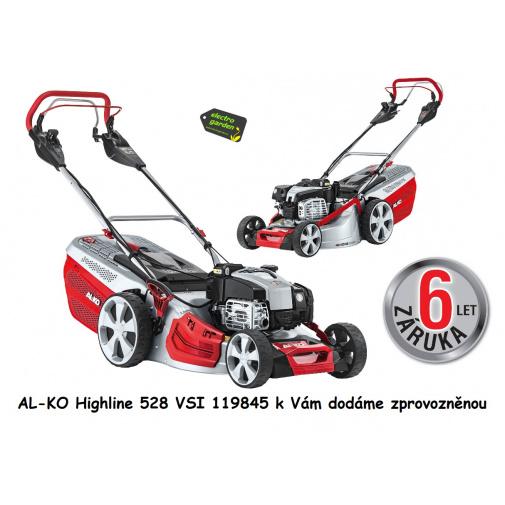 AL-KO Highline 528 VSI + AKCE zprovoznění, Benzínová sekačka s elektrostartem 119845, B&S 675 iS