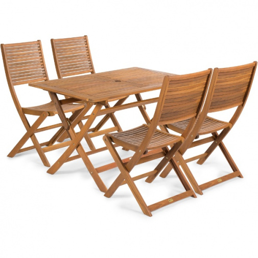 Fieldmann Emily T Set zahradního nábytku ze dřeva akácie