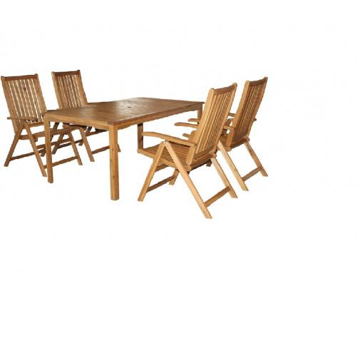 Fieldmann Calypso - T Sestava zahradního dřevěného nábytku Akácie