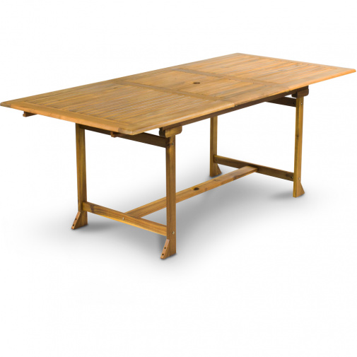 Fieldmann FDZN 4104-T + AKCE, Zahradní dřevěný stůl rozkládací Akácie