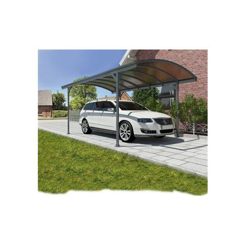 Palram Vitoria 5000 + AKCE, Hliníkový přístřešek pro auto s polykarbonátovou střechou /702348/