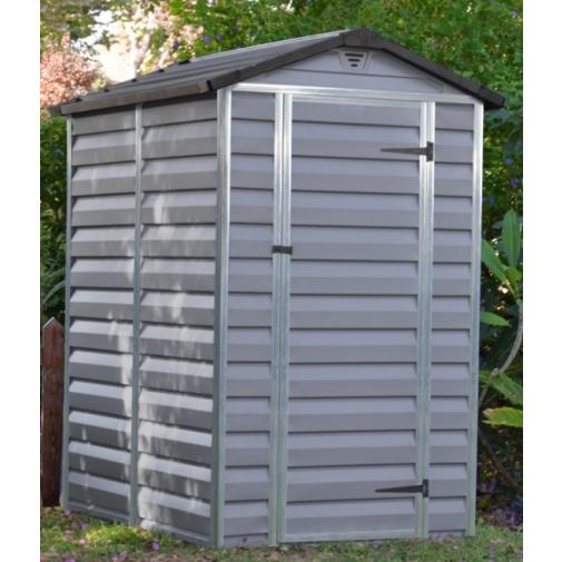 Palram Skylight 4x6 šedý Zahradní domek na nářadí, polykarbonát
