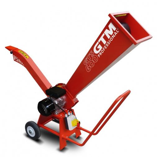 GTM Professional GTS 600 E Drtič dřeva s elektrickým motorem o výkonu 2,2 kW