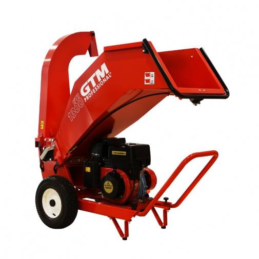 GTM GTS 1300M Profi drtič dřeva s benzínovým motorem 391ccm (Mitsubishi GB40)