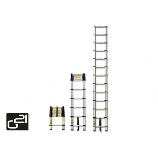G21 GA TZ11 Teleskopický žebřík hliníkový 3,2m /6390392/