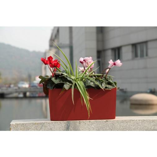 G21 6392501 Combi mini červený 40cm Samozavlažovací květináč