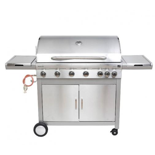 G21 Mexico BBQ Premium line + AKCE Dárek, Zahradní plynový gril s bočním hořákem + redukční ventil