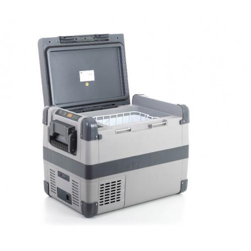 G21 C35 + AKCE, Autochladnička kompresorová o objemu 35 l, DC 12/24V, AC 100-240V