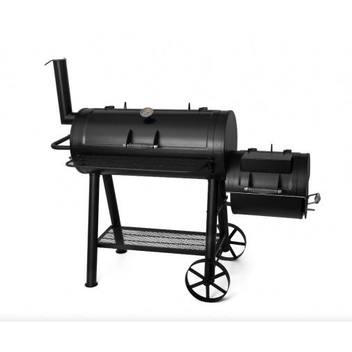 G21 Colorado BBQ Zahradní gril s udírnou na dřevěné uhlí, dřevo nebo brikety