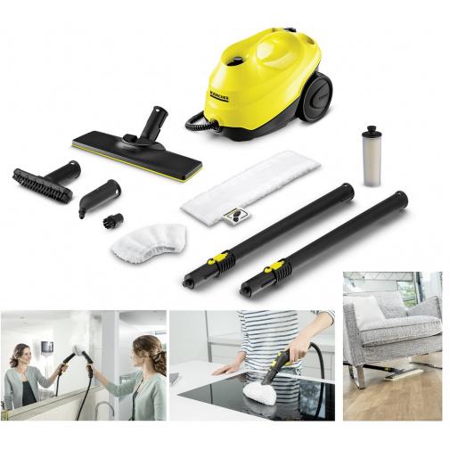 Kärcher SC 3 Easy Fix Yellow 1.513-110.0 Parní čistič pro domácnost s nepřetržitým provozem
