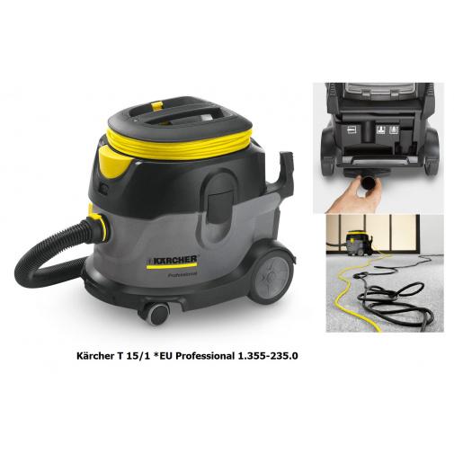 Kärcher T 15/1 Professional 1.355-235.0 Hepa Profi vysavač pro hotely a úklidové firmy
