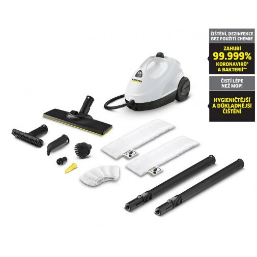 Kärcher SC 2 EasyFix Premium White 1.512-090.0 Parní čistič včetně sady na podlahu