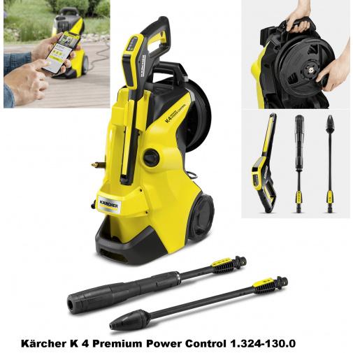 Kärcher K 4 Premium Power Control 1.324-130.0 Tlaková myčka včetně bubnu na navíjení hadice