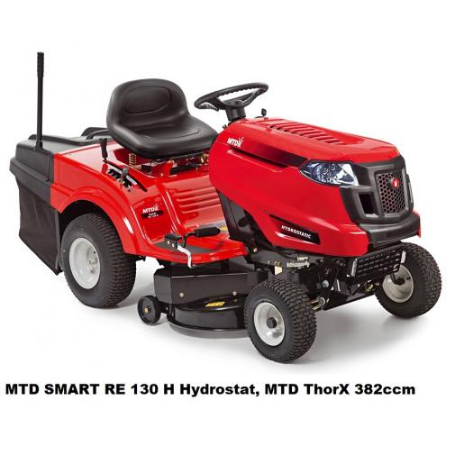 MTD SMART RE 130 H + ZPROVOZNĚNÍ, Zahradní travní traktor s košem, MTD ThorX 382ccm