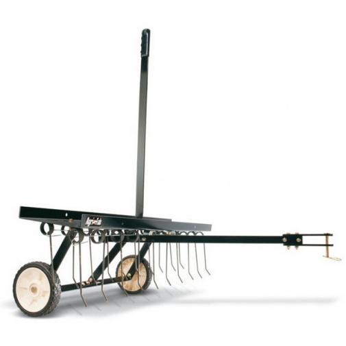 Agri Fab AF 294 Tažený travní odmechovač za zahradní traktor, šířka 102cm