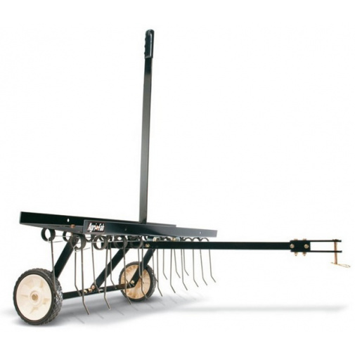 Agri Fab AF 294 + AKCE, Tažený travní odmechovač za zahradní traktor, šířka 102cm