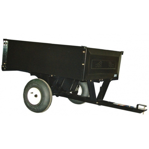 Agri Fab AF 303 Tažený vozík se sklápěcí korbou za travní traktor (nosnost 220kg)