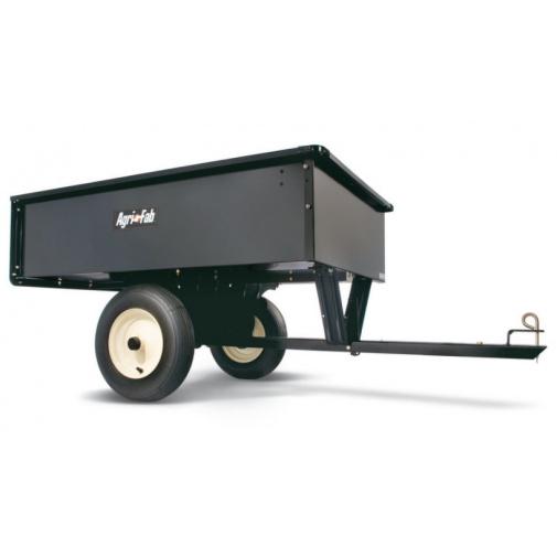 Agri Fab AF 653 heavy duty + AKCE, Tažený vozík se sklápěcí korbou za travní traktor