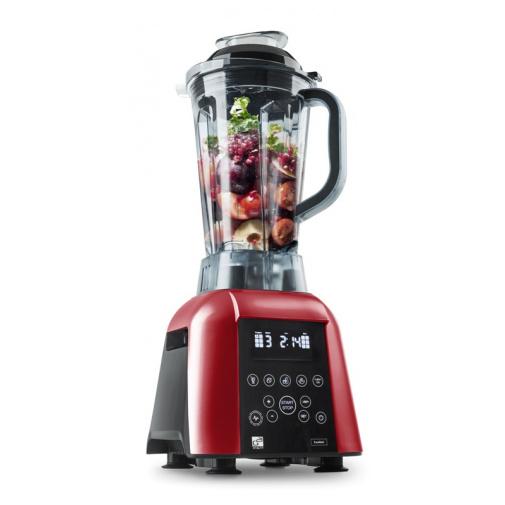 G21 EX-1700RD Blender Excellent red + AKCE, Multifunkční mixér červený s digitálním ovládáním