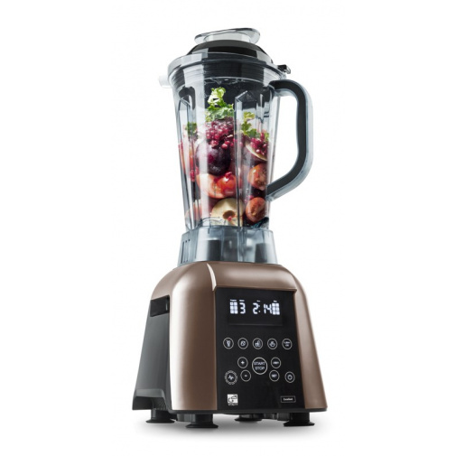 G21 Blender Excellent brown Multifunkční mixér hnědý s digitálním ovládáním, 1700W