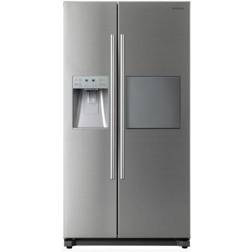 Daewoo FRN Q39NPFS Americká lednice nerez s minibarem + DÁREK